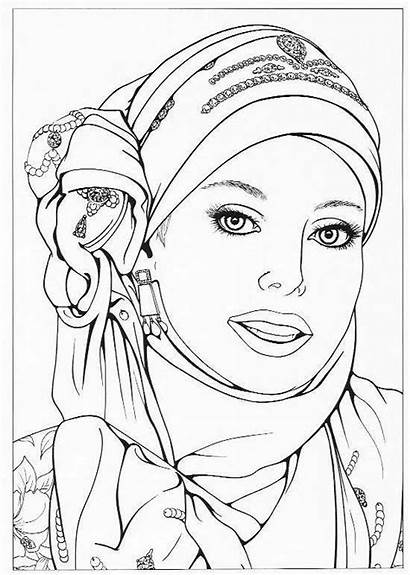 Coloring Pages African Adult Printable Colouring Books