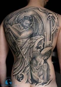 Ange Et Demon : tatouage ange et demon tattoo boutique ~ Medecine-chirurgie-esthetiques.com Avis de Voitures