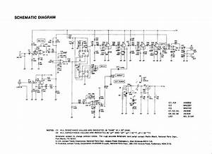Schematic For Realistic  Radio Shack Electronic Reverb