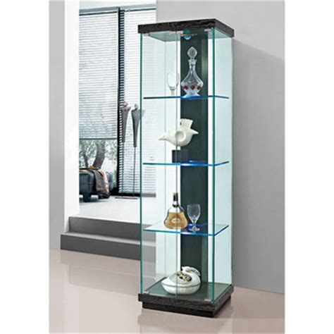 glass curio cabinet led light modern led cabinet buy led