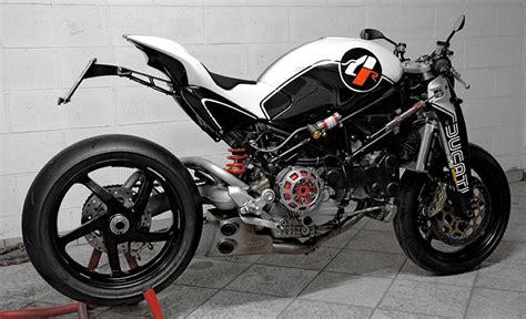 Custom Ducati Monster Ms4r By Paolo Tesio