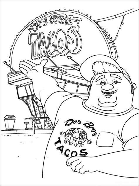 Turbo Kleurplaat by Dreamworks Turbo Coloring Pages Free Printable Dreamworks