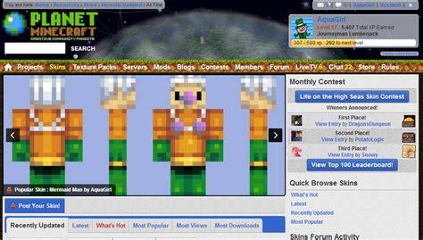 Mermaid Man (popreel!) Minecraft Skin