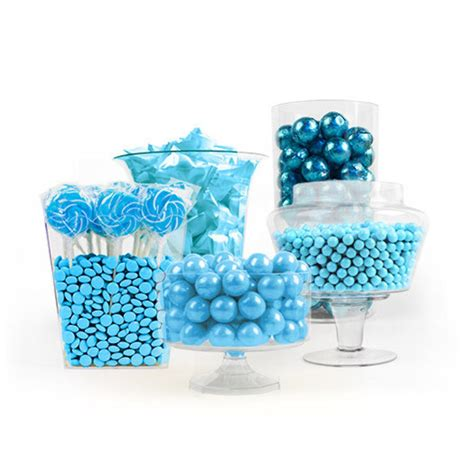 Light Blue Candy Buffet Jens Wedding Pinterest Blue