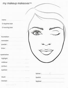 91 Best Images About Face Charts On Pinterest