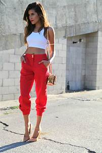 Fall Trend Red is the New Black - Sazan