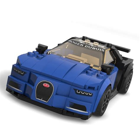 Use the build this moc page to only show the parts you are missing. Bugatti Chiron Speed Champions MOC - Bricksafe