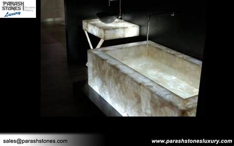 semi precious bathtub bathroom vanity