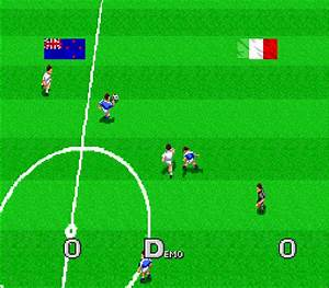 Virtual Soccer Screenshots GameFabrique
