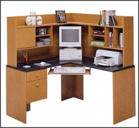 Computer Desk L Shaped With Hutch by L Shaped Computer Desk With Hutch For Any Workplace