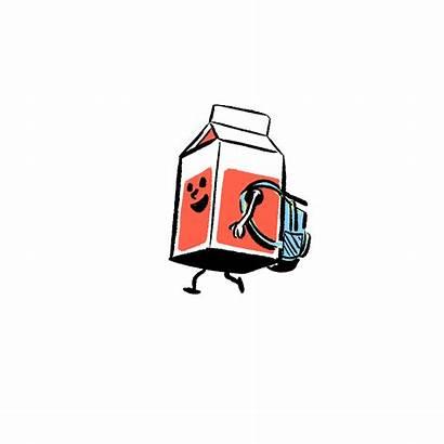 Milk Clipart Melk Carton Transparent Animation Webstockreview