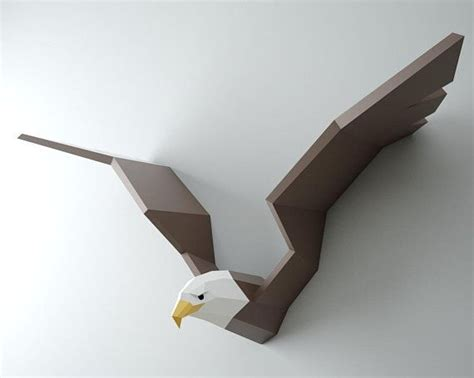 papercraft eagle diy paper craft bald eagle hawk