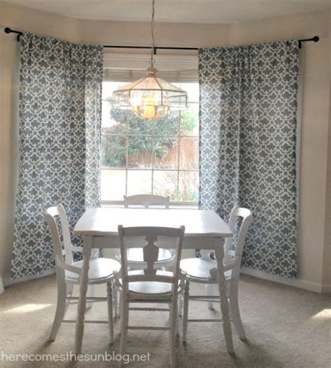 Electrical Conduit Bay Window Curtain Rod by Diy Bay Window Curtain Rod For Less Than 10