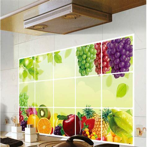 kitchen tiles with fruit design