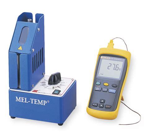 mel temp apparatus Quotes