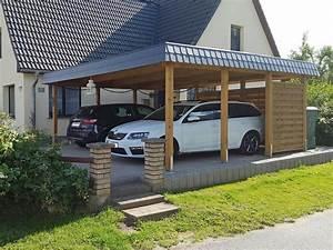 Dachbelag Für Carport : flachdach carport aus holz mit carport konfigurator planen ~ Michelbontemps.com Haus und Dekorationen