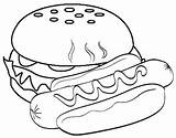Sausage Coloring Cartoon Dog Disimpan Coloringpagesfortoddlers Dari sketch template