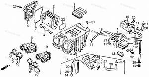 Honda Motorcycle 1983 Oem Parts Diagram For Air Cleaner