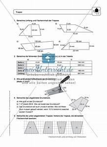Flächeninhalt Und Umfang Berechnen : umfang und fl cheninhalt eines trapez meinunterricht ~ Themetempest.com Abrechnung