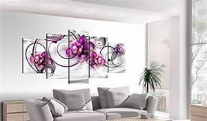 Tableau 5 Parties : impression sur toile 100x50 cm 3 couleurs choisir 5 parties image sur toile images ~ Teatrodelosmanantiales.com Idées de Décoration