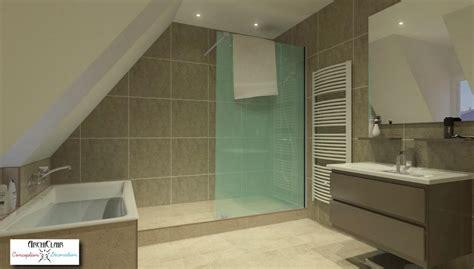 salle de dans chambre transformation de combles en chambre 2017 et salle de bain