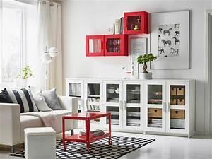 Regale Mit Glastüren : wohnzimmer modern einrichten kallax regale mit glast ren ikea pinterest kallax regal ~ Markanthonyermac.com Haus und Dekorationen