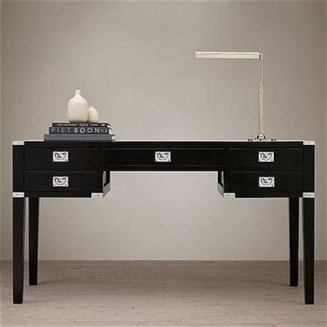 threshold 3 drawers caign desk
