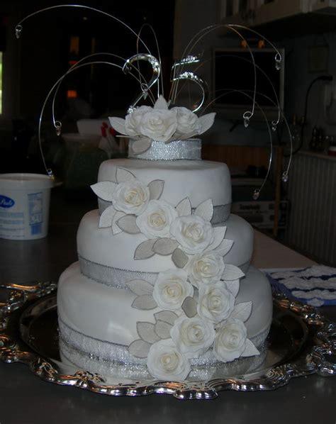 25th wedding anniversary cake decorations 187 wedding
