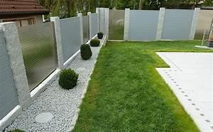 Pflanzen Kübel Beton : sichtschutz grau an steins ulen ~ Markanthonyermac.com Haus und Dekorationen