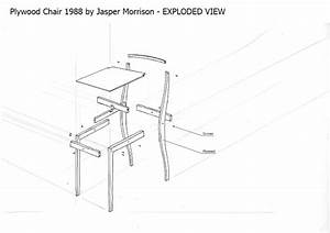 Nathan Woods Furniture Design  Research Comparisons And Exploded View Drawing