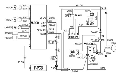 solucionado diagrama electrico nevera daewoo fr 631nd yoreparo