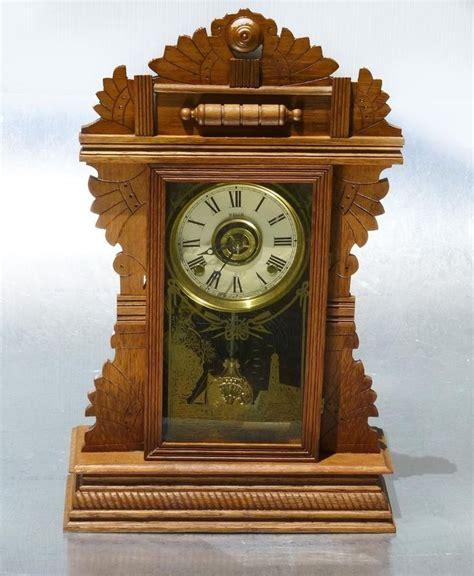 antique   welch parlor kitchen clock  pendulum