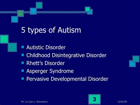 Autism Spectrum Disorder Le Juan Richardson