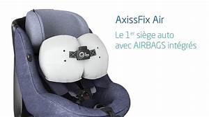 Siege Auto Airbag : b b confort axissfix air fonctionnement du si ge auto avec airbags int gr s youtube ~ Maxctalentgroup.com Avis de Voitures