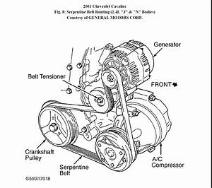 2001 Chevy Suburban Belt Diagram