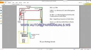 Takeuchi Tl 120 Starting Circuit Wiring Diagram Manual