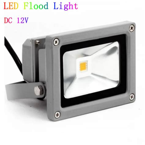 12v dc 10w 20w 30w 50w led flood light waterproof
