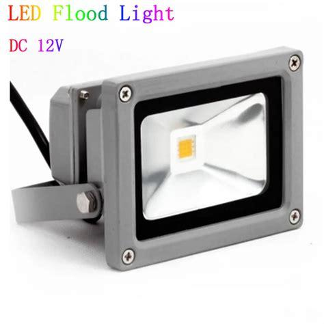 12v dc 10w 20w 30w 50w led flood light waterproof