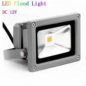 V dc w led flood light waterproof