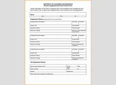 Work history template Authorization Letter Pdf