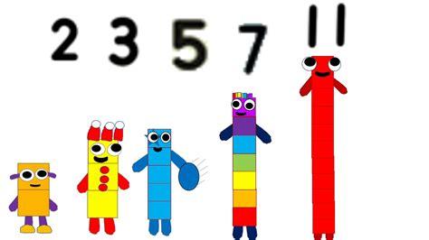 Number 11 In Number Blocks