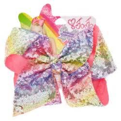 hair bows for sale jojo siwa large rainbow sequin signature hair bow