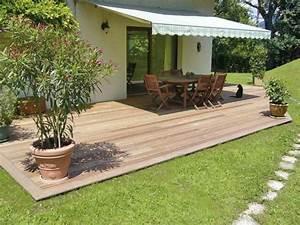 Terrasse En Anglais : terrasse bois jardin en pente diverses id es de conception de patio en bois pour ~ Preciouscoupons.com Idées de Décoration