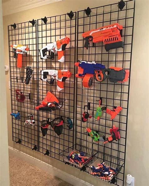 Every nerf fanatic needs something like this! I need this marvelous playroom organization # ...