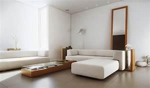 white simple living room interior design ideas With simple living room furniture designs
