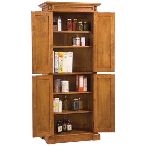 Home Styles Kitchen Distressed Oak Finish Pantry  Ebay