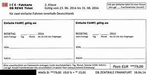 Rechnung Bahncard : ice treff db rewe ticket weitere details ~ Themetempest.com Abrechnung