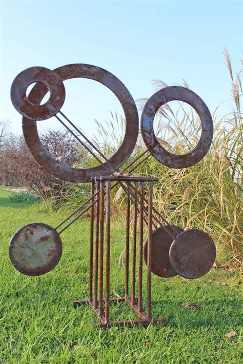 Goat Decor by Rustic Metal 56 Quot Small Pendulum Ornamental Yard Sculpture