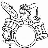 Coloring Drum Rock Band Roll Drummer Kiss Kit Boy Drawing Colouring Sheet Drums Broke African Getdrawings Printable Getcolorings Clipartmag Play sketch template