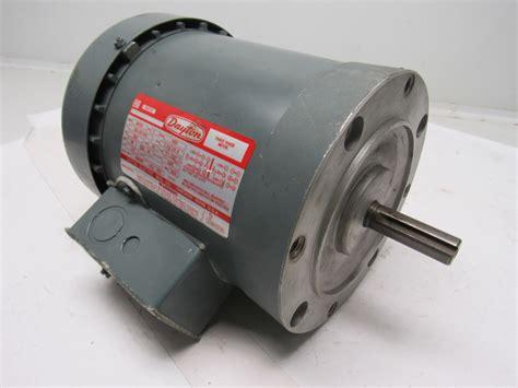 Dayton Electric Motors by Dayton 3n237c 1 Hp 3ph 208 220 440v 3450rpm Electric Motor